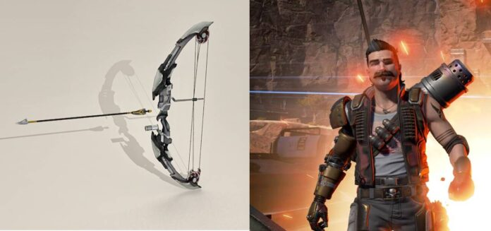 Apex Legends' bow weapon skins