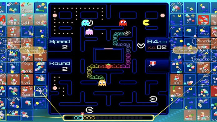 The Pac-Man Battle Royale for Switch Online goes live today
