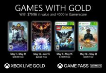 Xbox Live Games Gold May 2021
