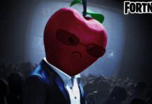 Fortnite Apple Skin Colored Version