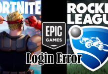Epic Account login issues