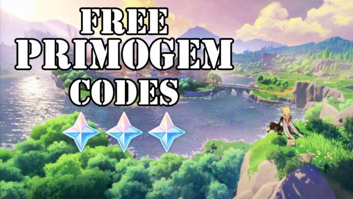 Genshin Impact 1.5 livestream free primogems code