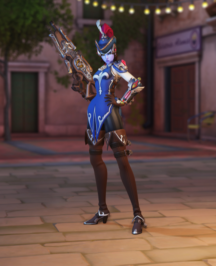 Widowmaker 'Mousquetaire' Skin