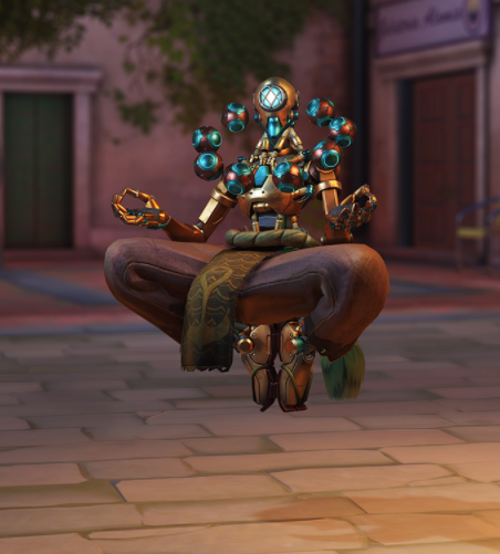 Subaquatic Zenyatta Epic Skin