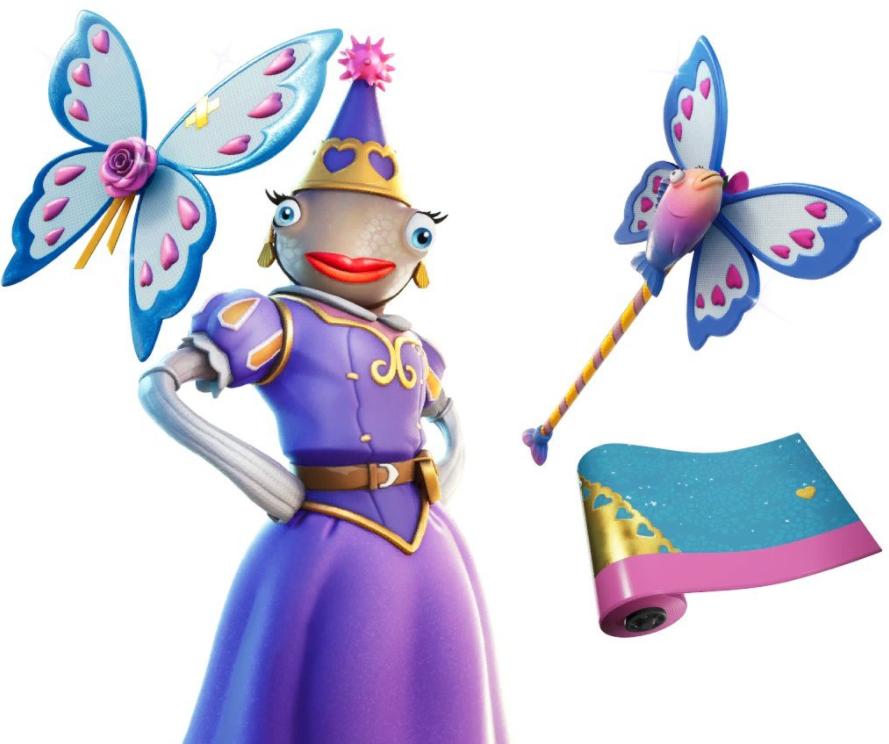 Princess Felicity Fish Fortnite Skin