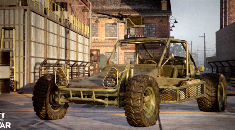 Call of Duty Cold War Outbreak new FAV vehicle