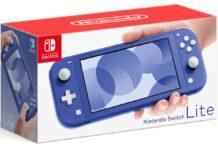 Blue Nintendo Switch Lite
