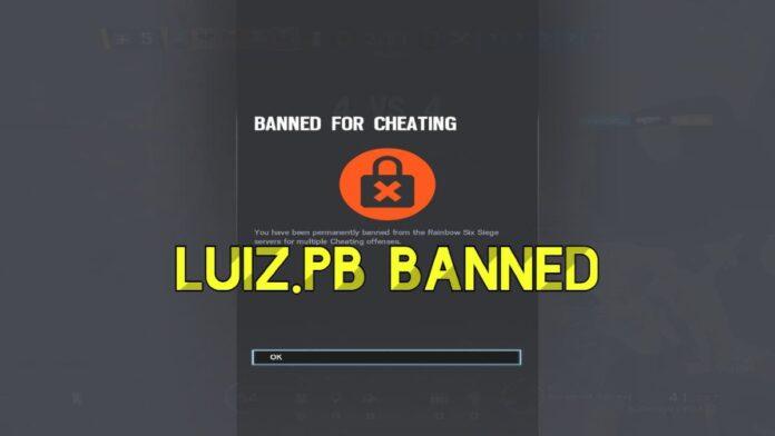 rainbow six luiz banned
