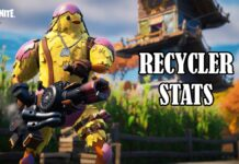 Fortnite Recycler Weapon Stats Revealed