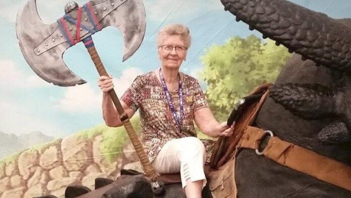 Skyrim Grandma follower