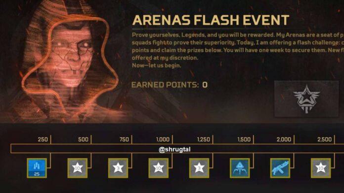 Apex Arenas Flash Event
