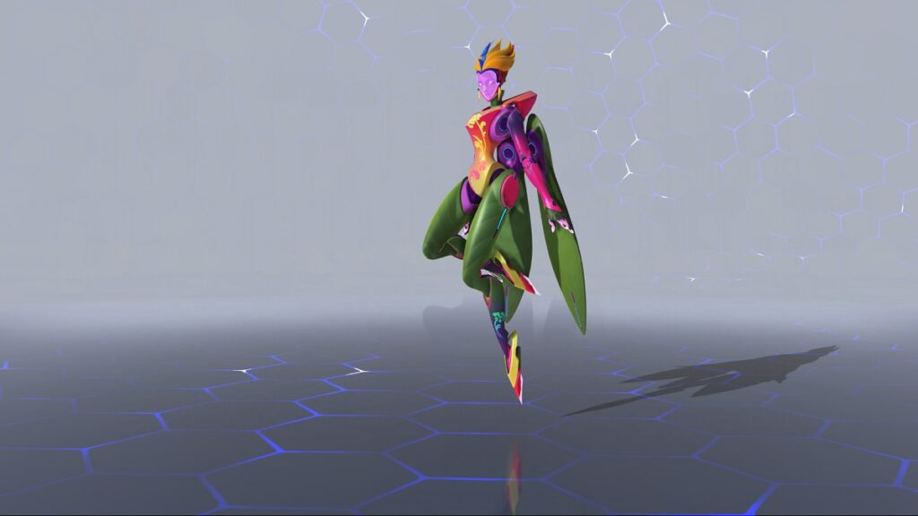 In game view of the new skin
