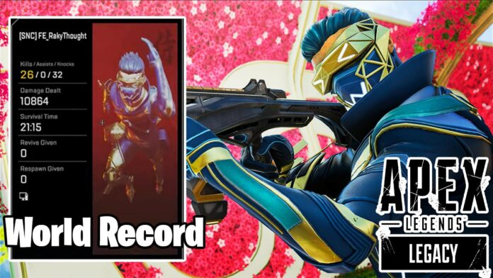 Japanese Apex Legends YouTuber RakyThought breaks damage world record