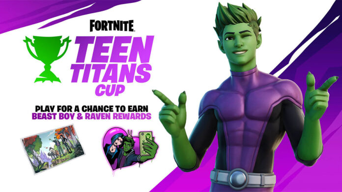 Fortnite Teen Titans Cup official image