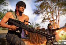 Call of Duty 80's Action Hero Rambo