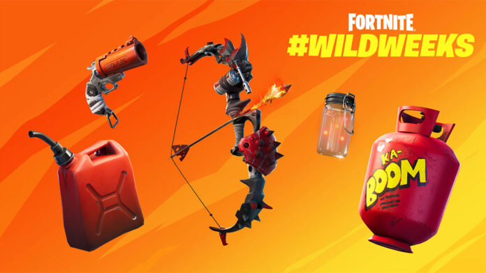 Primal Flame Bow Removed from Competitive Fortnite