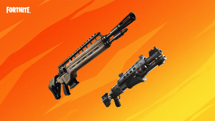 Fortnite recent update unvaulted the Tactical SHotgun and Infantry Rifle