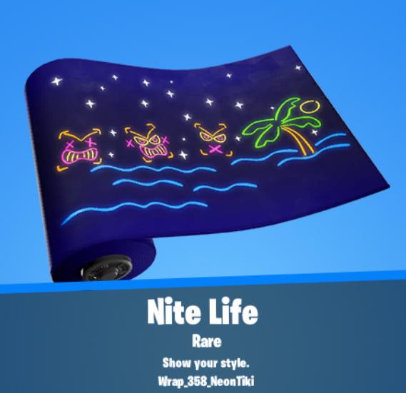 Nite Life Wrap