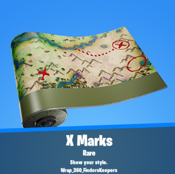 X Marks Wrap