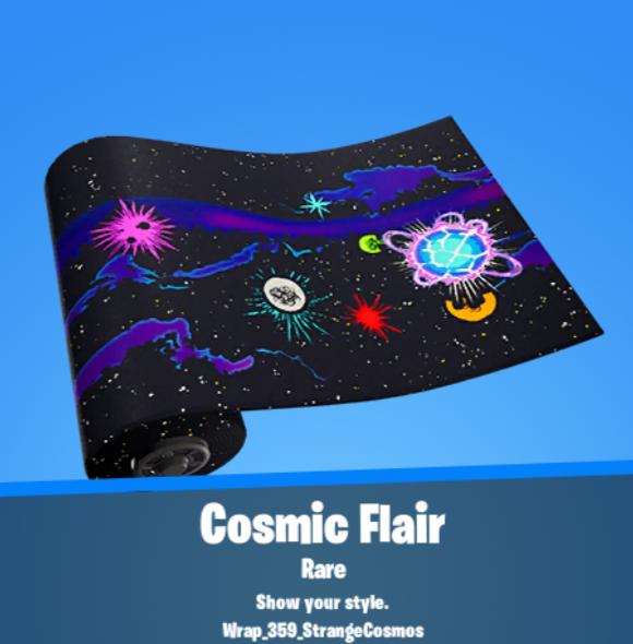 Cosmic Flair Wrap