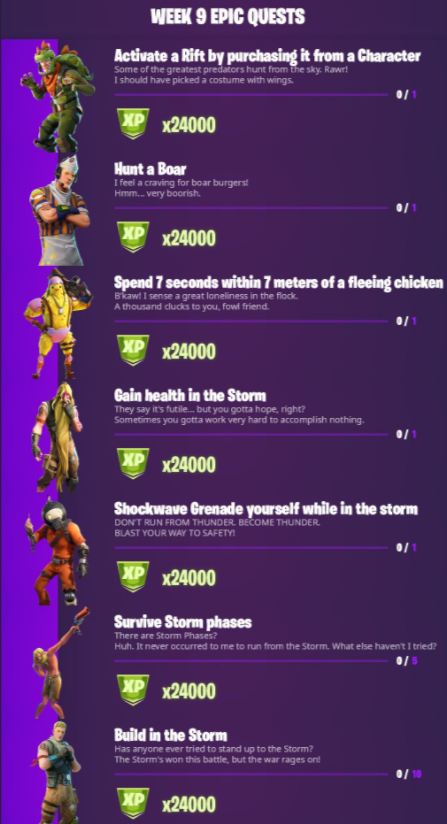 Fortnite possible UI changes