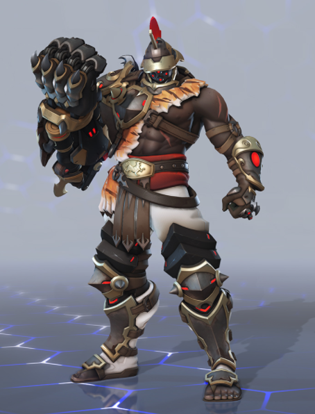 Doomfist Gladiator Skin
