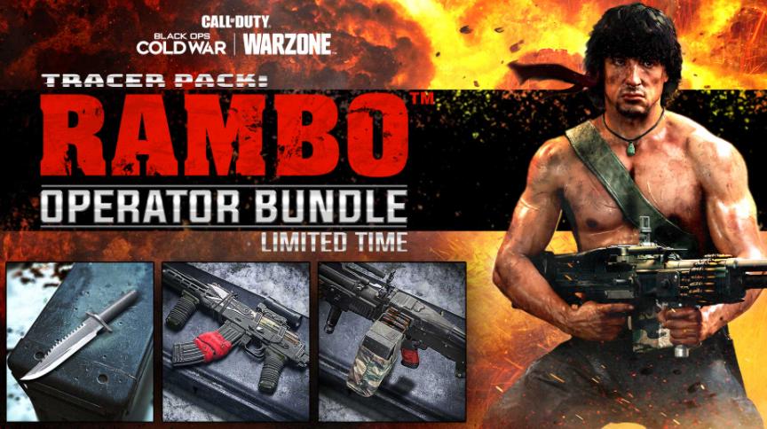 Call of Duty Rambo Operator Bundle