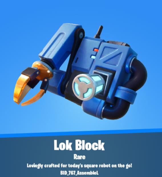 Lok Block Backbling
