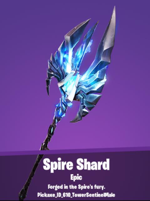 Spire Shard Pickaxe