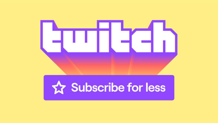 Twitch new Subscribe Price feature