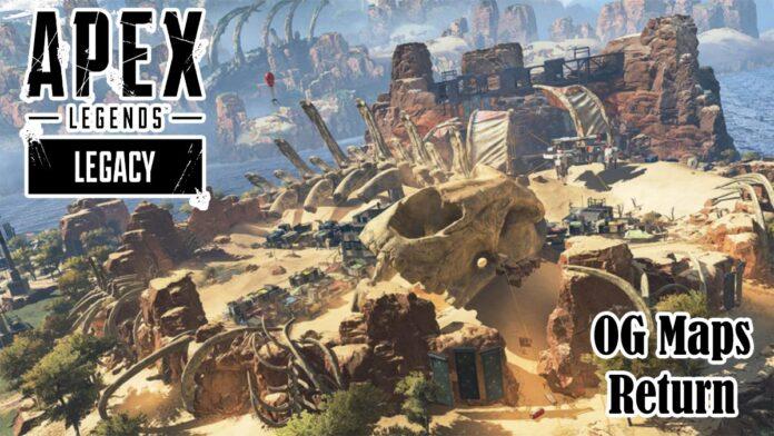 Apex Legends Genesis Event OG map Skulltown