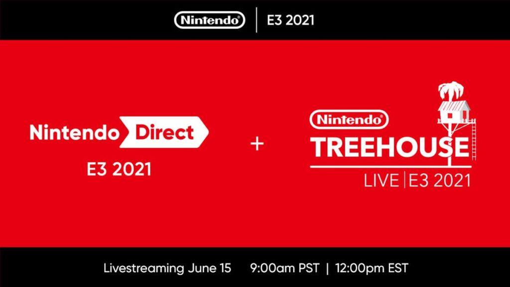 E3 2021 Schedule Guide Nintendo