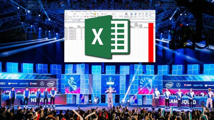 Microsoft Excel is now officially an e-sport