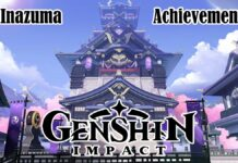 Genshin Impact Inazuma Achievements