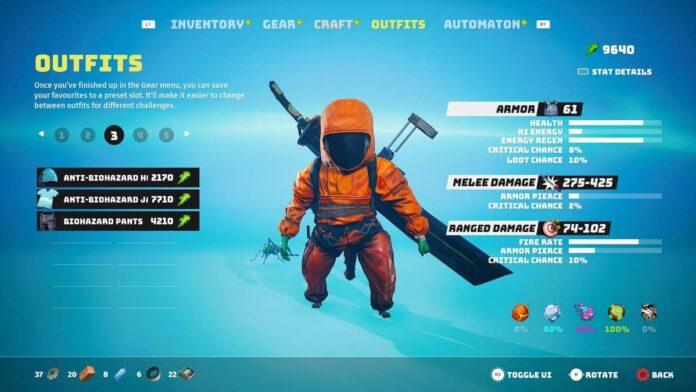 How to find Biohazard Suit