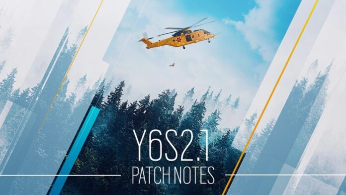 rainbow six siege y6s2.1 patch notes