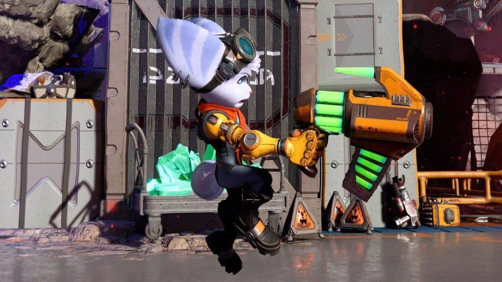 Ratchet & Clank: Rift Apart Guide :Blast Pistol