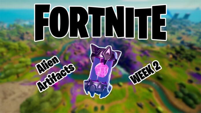 Fortnite Alien Artifacts week 2