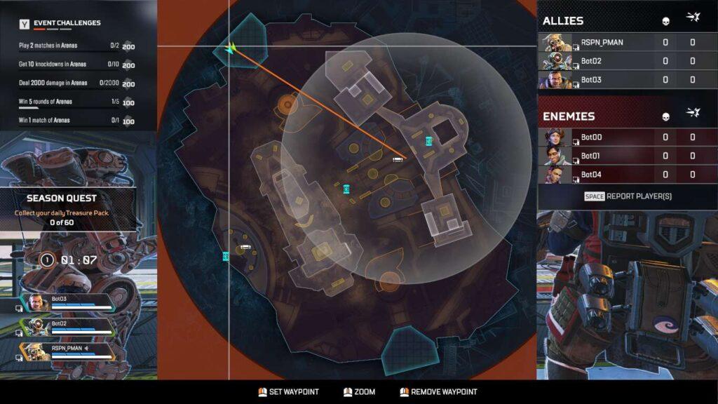Apex Arenas Changes