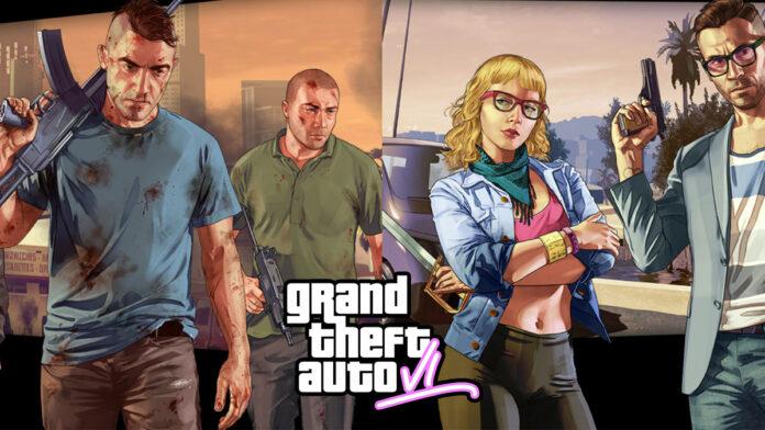 GTA online loading screen depicted as GTA 6