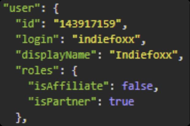 Indiefoxx Twitch partner status
