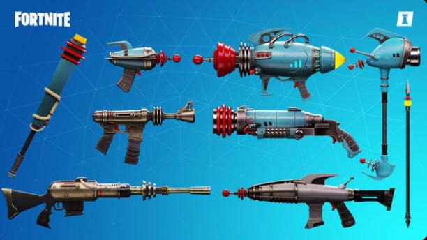 Fortnite STW weapons