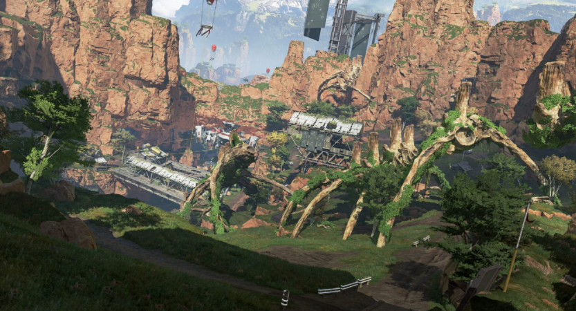 Apex Legends original Kings Canyon map