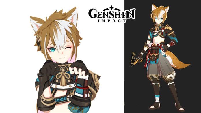 Genshin Impact leaked Bow character Gorou
