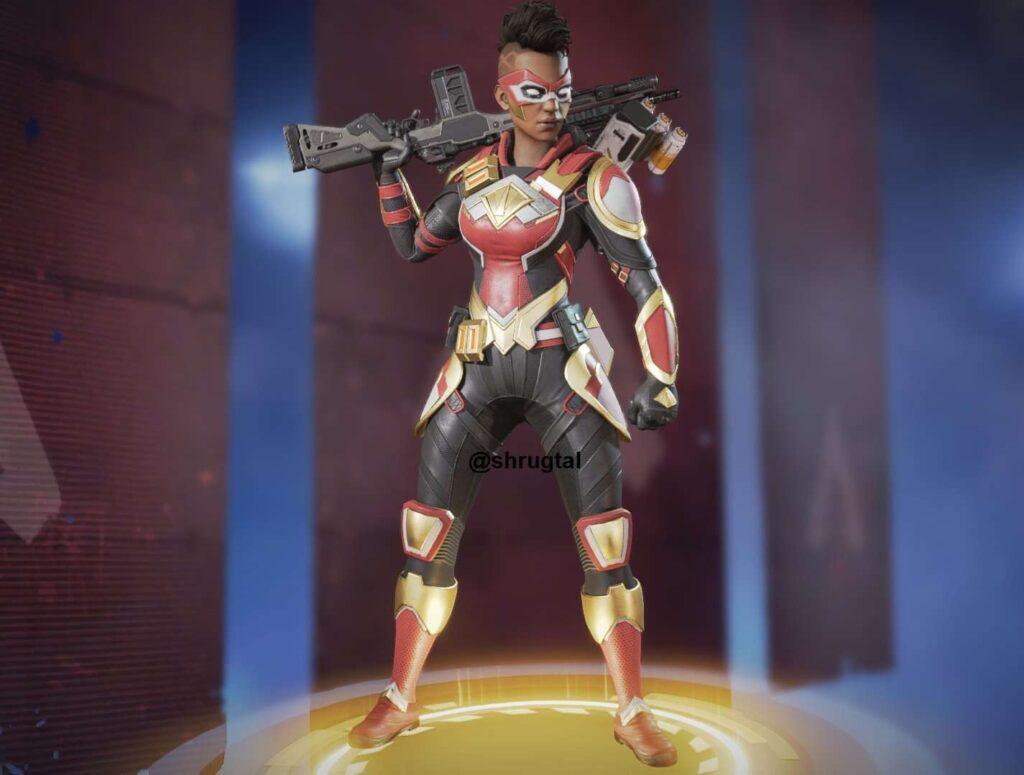 "Bangalore Edition skin: ""Super Soldier"""
