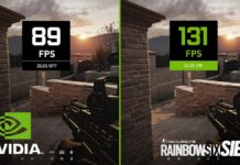 nvidia dlss 2.2 rainbow six siege