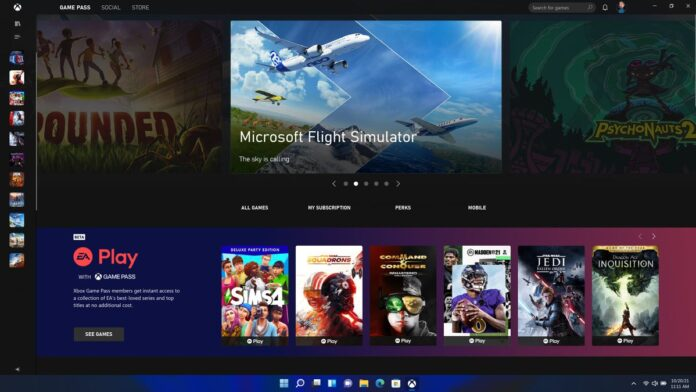 Windows 11 to feature Built-in Xbox App
