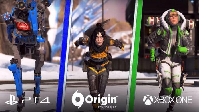 Apex Legends cross progression