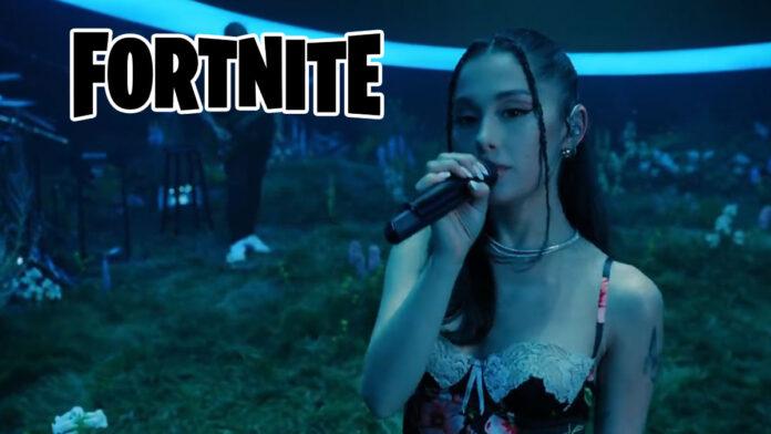 Fortnite x Ariana Grande live concert
