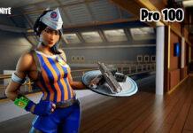 Fortnite Pro 100 creative map featured art